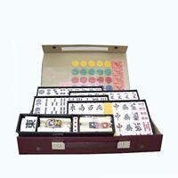 JAPANESE Mahjong Mahjongg Pai SET RAN with Case from JAPAN