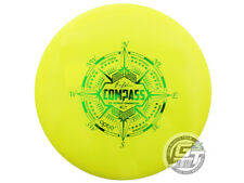 New Latitude 64 Opto Compass 177g Yellow Green Foil Midrange Golf Disc