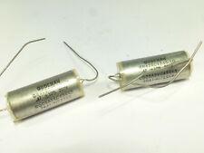 one pair high grade capacitor Gudeman GR426C474S-10 PIO 0.47µF 470nF 200Vcc NOS