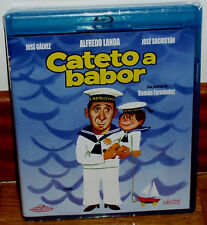 CATETO A BABOR BLU-RAY NUEVO PRECINTADO CINE ESPAÑOL ALFREDO LANDA (SIN ABRIR)