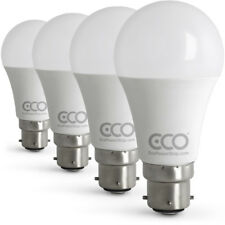 3 Pin BC3 Energy Saving LED Light Bulbs 80W (12W Power),Warm White 3000K, 4xPACK