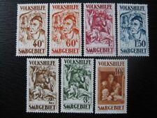 SAAR SAARLAND Mi. #144-150 scarce mint stamp set! CV $240.00