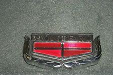 NOS Taillight Panel Emblem 74 75 76 Mercury Montego MX-Trunk Badge Ornament Ford
