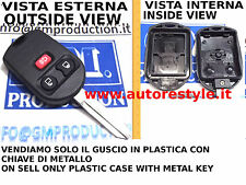 SOLO COVER GUSCIO PER TELECOMANDO FORD 3 TASTI PLASTIC CASE 3 BUTTON REMOTE