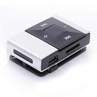 Mini USB Clip Digital Mp3 Music Player Support 8GB SD TF Card Modulators Video