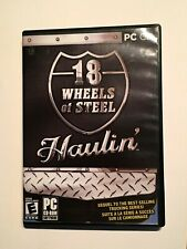 18 Wheel Of Steel Haulin PC-CD ROM Windows Computer Video Games 2006 Truck Car