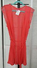NWT Blush Soft Seduction modal robe, Color: Melon- coral, L/G, Org$ 68.00