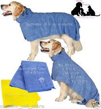 Dog Drying Coat | Bathrobe | Towel Easy Dry Ultra Absorbant After Walk Bath Show