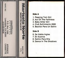 MARISELA NORTE Norte/Word TAPE Advance Promo New Alliance 1991