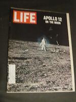 LIFE MAGAZINE APOLLO 12 ON THE MOON