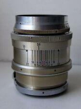Jupiter 9 85mm f2: contax RF mount 1951