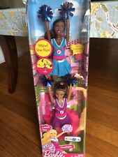 I Can Be Cheerleader Barbie Gift Set ToysRUs Exclusive Collection NIB