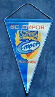 Orig. Großer 34 cm Wimpel SC Empor FC Hansa Rostock DDR Oberliga Fussball FCH