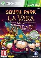 SOUTH PARK LA VARA DE LA VERDAD TEXTOS EN CASTELLANO NUEVO PRECINTADO  XBOX 360
