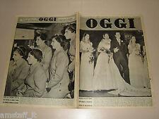 OGGI=1950/44=ERROL FLYNN=DIONNE GEMELLE=ENRICO CAVIGLIA=GIULIANO VANGHETTI=