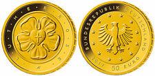 50 Euro Deutschland 2017 Lutherrose Reformation Martin Luther Goldmünze Gold