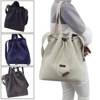 Canvas Handbag Shoulder Women's Bag Tote Purse Messenger Hobo Bag Large Travel