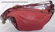 MARC JACOBS DARK PINK LEATHER MADE IN ITALY SHOULDER/HAND BAG NG33