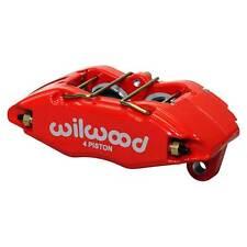 Wilwood Forjado DYNAPRO Honda Civic 4 Pot Calibrador de reemplazo directo, Rojo