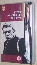 BULLITT. STEVE McQUEEN. VAUGHN  VHS Video (15) UK/PAL.