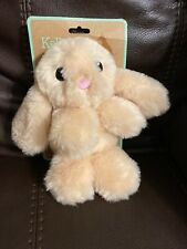 Kellypet 9'' Beige Bunny Dog Toy W/Crinkle Ears & Squeaker