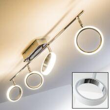 Plafonnier Design Lampe à suspension chromée Spot LED Lustre ajustable 138745