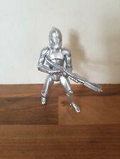 Star Wars Silver Anniversary Clone Trooper Figure  Hasbro
