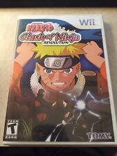 Naruto Shippuden: Clash of Ninja Revolution III 3 * for NINTENDO WII * COMPLETE
