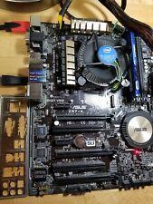 Asus Z97-A, Motherboard + Intel i5 4460 CPU. No Ram
