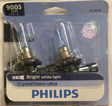 9005 CVB2 Phillips Crystal Vision Ultra 12V 65W Headlamp Headlight Bulbs - 2 PK