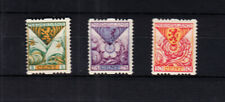 Nederland Roltanding 71 - 73 Provinciewapens 1925 smetteloos postfris
