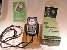GE Camera Exposure Meter Type DW-68 - Original Box - Made in USA Great Condition