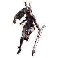 SQUARE ENIX Final Fantasy XII FF12 Play Arts Kai Fran VIERA WARRIOR Figure Japan