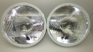 7 Inch Round H4 Halogen Headlight set Holden Torana LX SS SL/R With park lamp