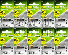 10PC GP 4LR44 476A L1325 A544 PX28A V4034PX 6V ALKALINE BATTERIES EXP 2018