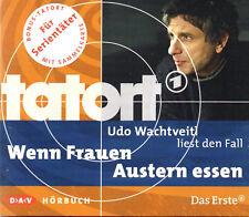 Tatort - Wenn Frauen Austern essen -  Wachtveitl - Hörbuch CD/NEU/OVP