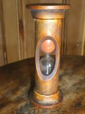 Wonderful Antique Treen Bobbin Style Egg Timer c1900