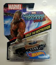 Hot Wheels Marvel Drax The Destroyer Character Car Gurdians Of The Galaxy Vol 2