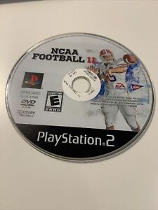 NCAA Football 11 (Sony PlayStation 2, 2010) DISC ONLY Rare Tested Clean Nice!