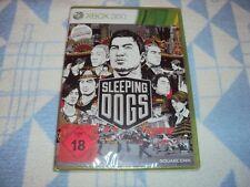 Sleeping Dogs (Microsoft Xbox 360, 2012, DVD-Box) NEU OVP