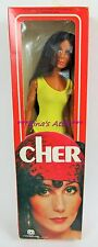 """Vintage Mego 1976 CHER Doll in YELLOW SWIMSUIT 12"""""""