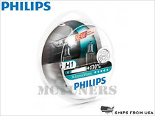 New! PHILIPS X-treme Vision +130% H1 Halogen Headlight bulbs 12258XV+S2 55W SET