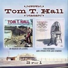 In Search of a Song/The Rhymer and Other Five and Dimers by Tom T. Hall (CD,...