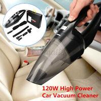 120W Car Vacuum Cleaner Wet Dry 12V Handheld  Portable Powerful Cordless