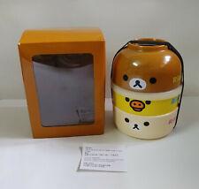 SAN-X Rilakkuma Korilakkuma Kiiroitori Melamine Food Storage Box & Bowl Set NIB