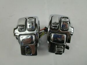 2001 Harley-Davidson FLHT Electra Glide Chrome Switches Controls