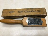 Vintage Cummins S17 Cup Cleaning Kit in Box