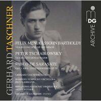 Gerhard Taschner - Violin Concertos [New CD]