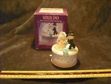 Enesco Wee Do Wedding Mice Music Box