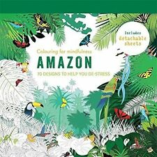 Amazon: 70 designs to help you de-stress (Colouring for Mindfulness), New Books